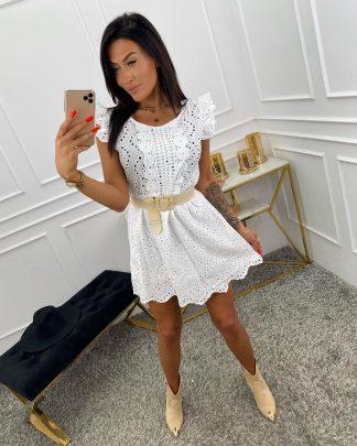 Letné šaty MADEIRA WHITE dokonalé letné dovolenkové šaty