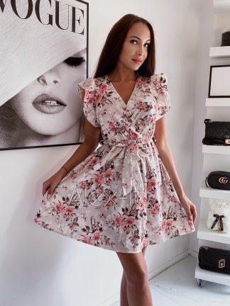 Kvetinové šaty ARIANA rozpravkovo krásne, nadýchané, ideálne na leto