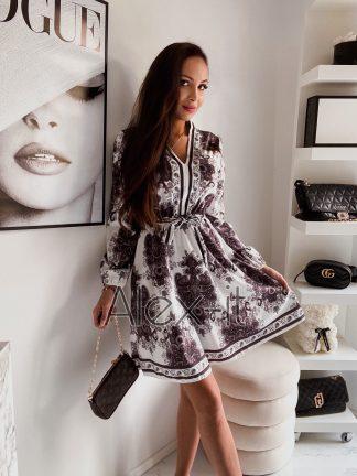 Elegantné šaty CHRYSTAL, nádherné saténové, ktoré sa nedajú nemilovať