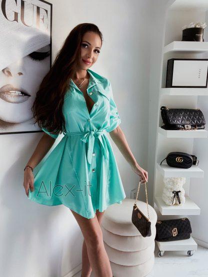 Košeľové šaty SIMPLY SKY nádherné a jednoduché